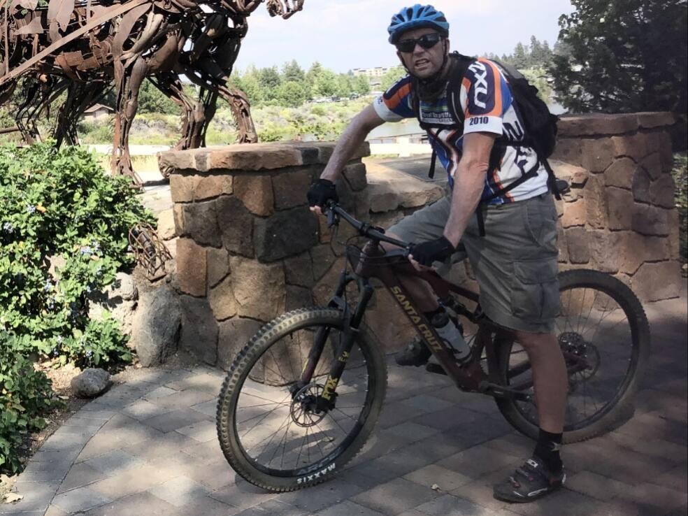 Mark Osborne in Bend, Oregon. (Tracy Hinman)