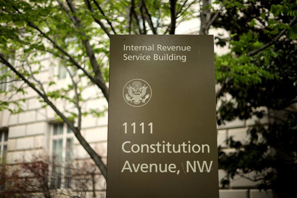 The Internal Revenue Service headquarters building in Washington, D.C. (Chip Somodevilla/Getty Images/TNS)
