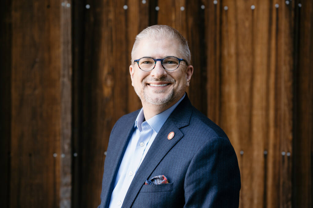 Jay James is promoted to vice president for sales at Joseph Phelps Vineyards in Napa Valley. (courtesy photo)
