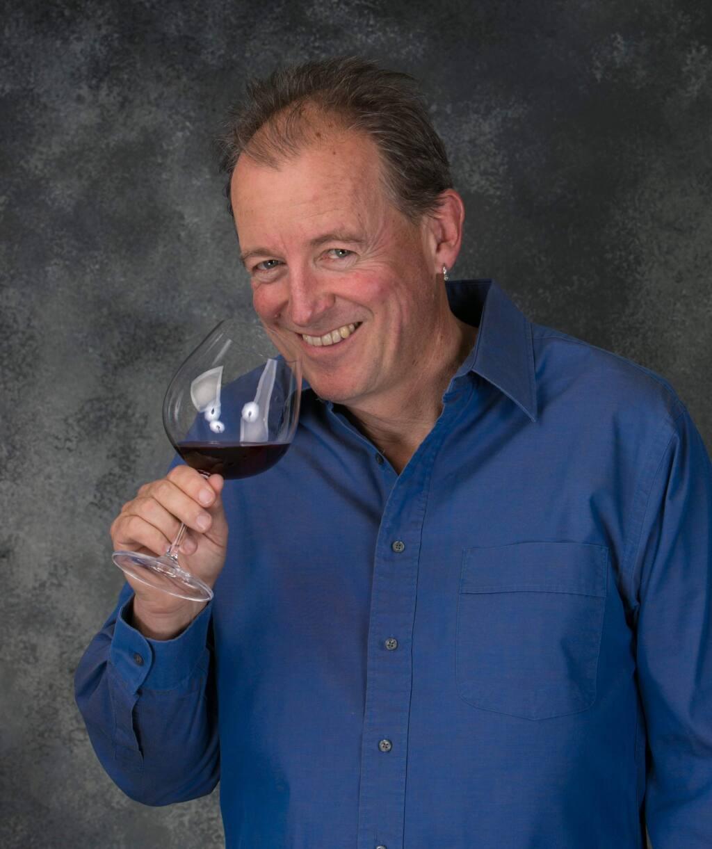 Vintner Nick Goldschmidt of his namesake winery in Healdsburg. (Goldschmidt Vineyards)