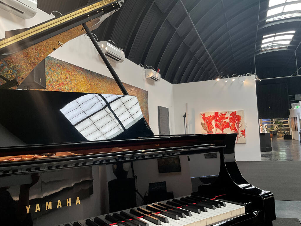 The 222, a new performance space at Healdsburg's Paul Mahder Gallery, opens Aug. 21 with a concert by jazz pianist George Cables. (Paul Mahder)