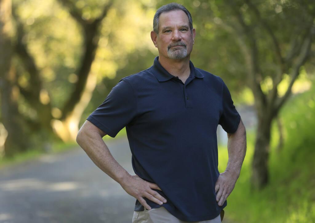 Dan Bartholome of Santa Rosa, Thursday, April 8, 2021. (Kent Porter / The Press Democrat) 2021