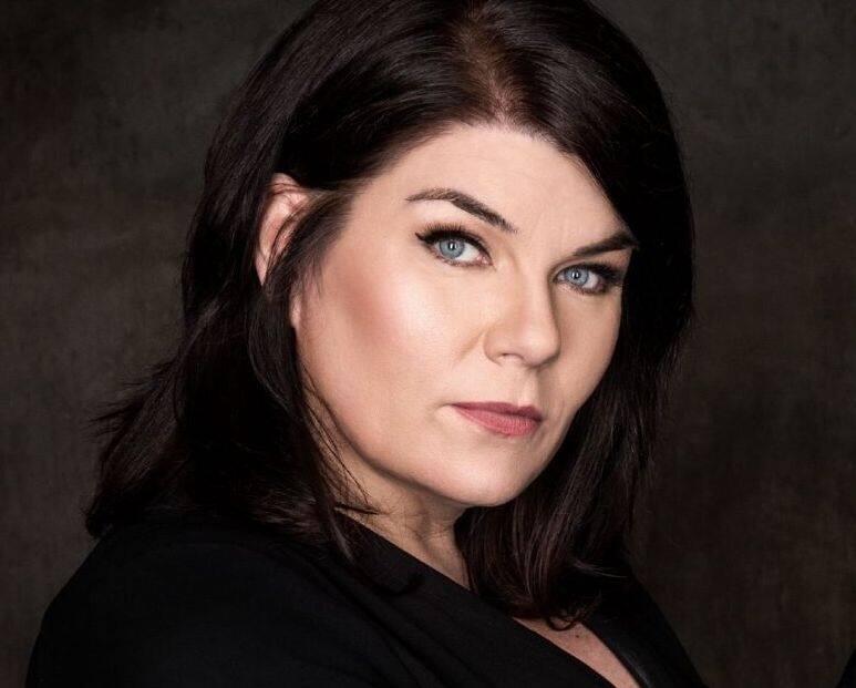 """Karen Kilgariff, co-host of """"My Favorite Murder."""""""