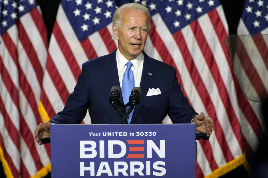 Joe Biden Introduces Running Mate Kamala Harris At First Joint Campaign Event
