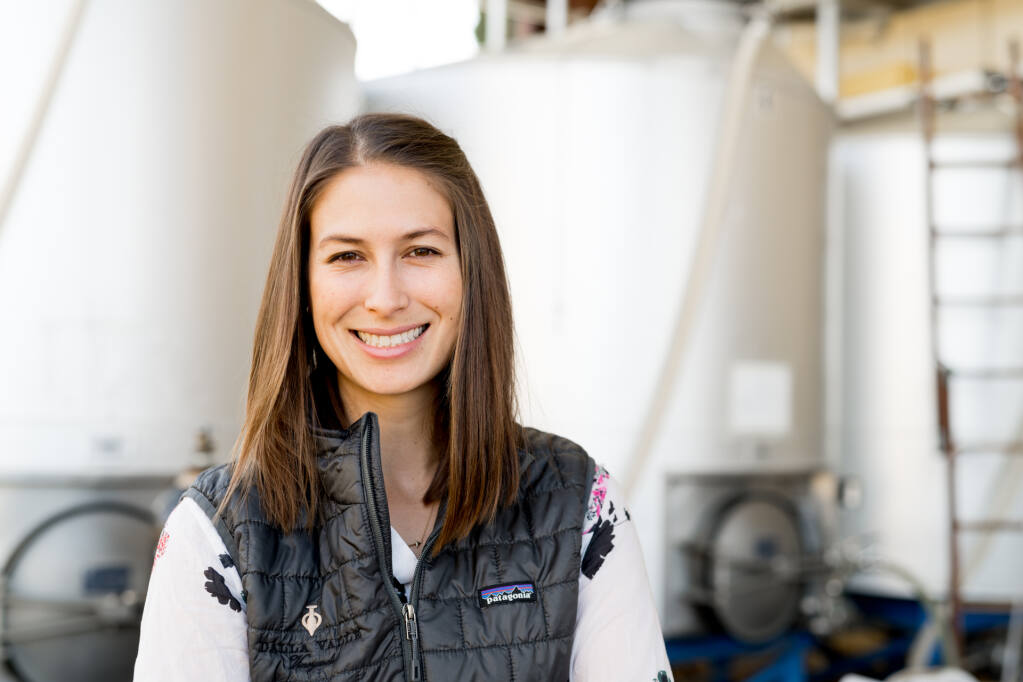 Maya Dalla Valle is named winemaker of Napa Valley's Dalla Valle Vineyards in January 2021. (courtesy of Dalla Valle Vineyards)