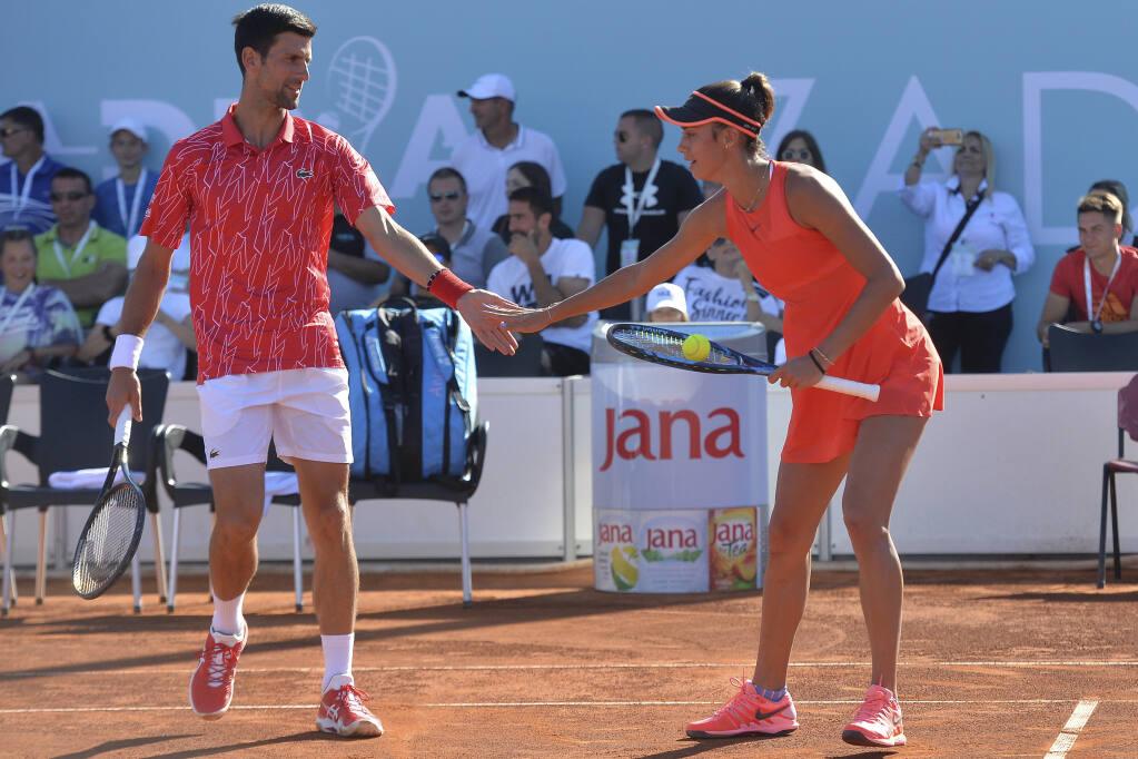 No 1 Novak Djokovic Wife Have Coronavirus After His Exhibitions