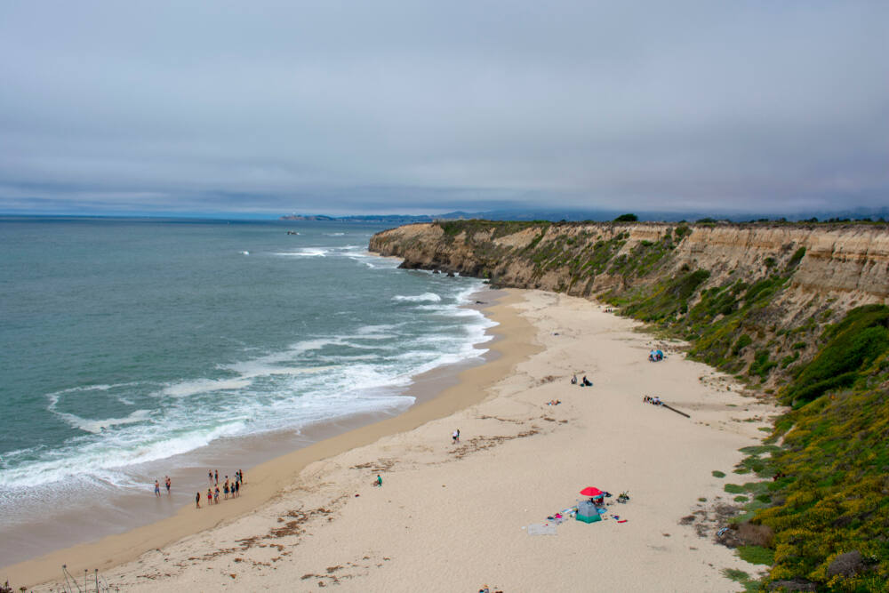 Cowell Ranch State Beach in Half Moon Bay (Michael Vi / Shutterstock)