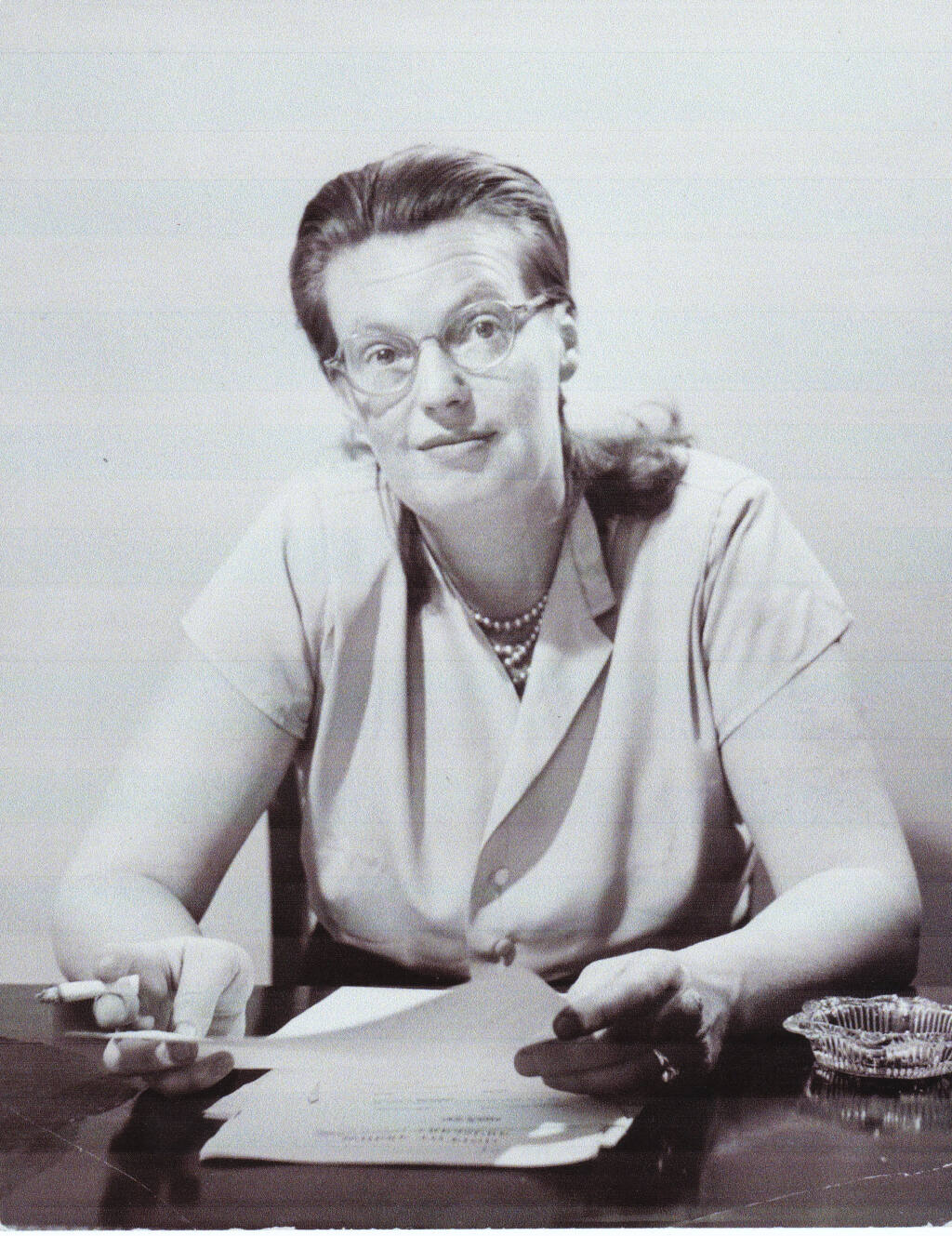 """Author Shirley Jackson, best-known for her short story """"The Lottery,"""" is portrayed as bitter and hostile in the new film """"Shirley."""" Werner Wolff/Black Star, from Ryerson Image Centre"""
