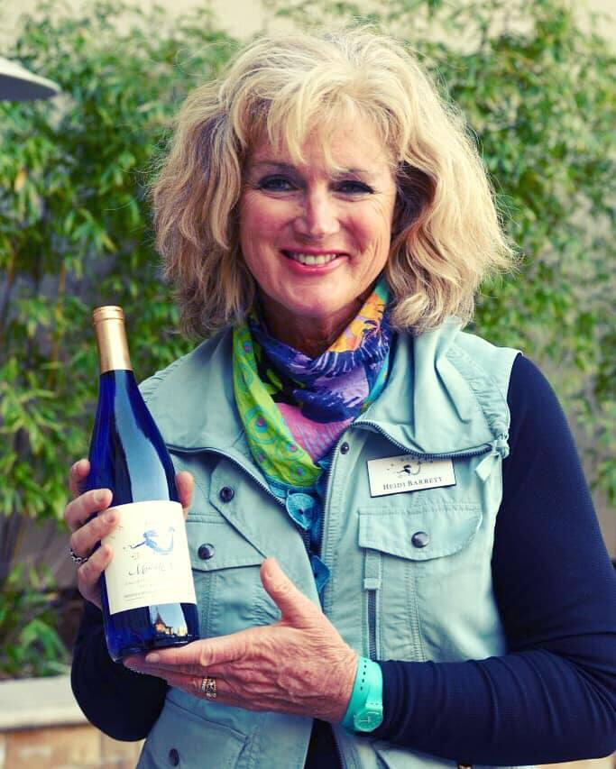 Regarded as a Wine Country icon, Heidi is well known for producing the 6-liter bottle of Screaming Eagle that sold for $500,000 at Auction Napa Valley in 2000. It continues to hold the record for the highest price paid for a single bottle. (Remi Barrett)