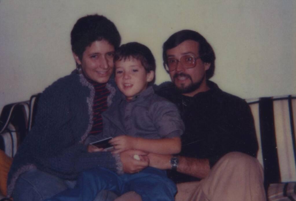 Cynthia, Sam and Sasha Tuttelman (4 years old)