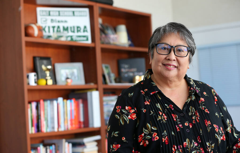 Dr. Diann Kitamura is the superintendent of Santa Rosa City Schools. She is set to retire June 30. (Christopher Chung / The Press Democrat)