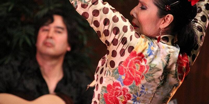 Paella and Flemenco! is a live show featuring flamnceo music and dancing, plus delicious paella, this weekend at Grand Central Cafe. (COURTESY OF FLAMENCO LIVE!)