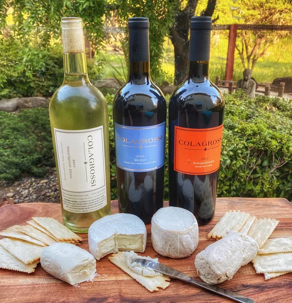 Enjoy the iconic pairing of wine and cheese with Colagrossi Wines on Friday, May 21, 2021. (Colagrossi Wines)