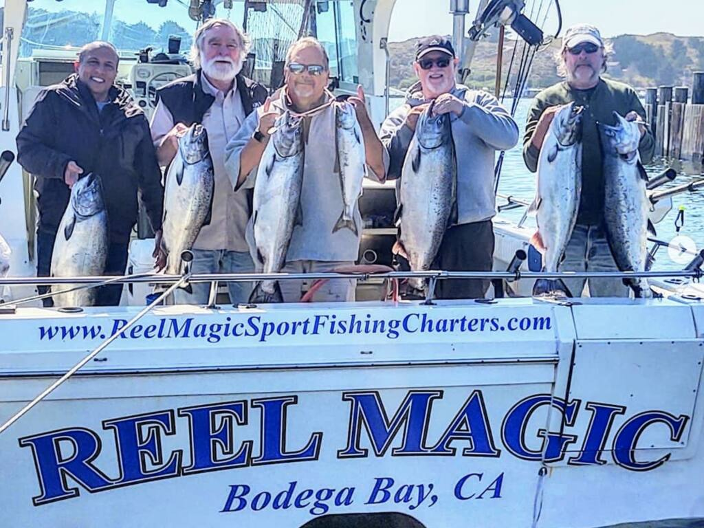 Reel Magic Sportfishing, Bodega Bay (Captain Merlin photo)