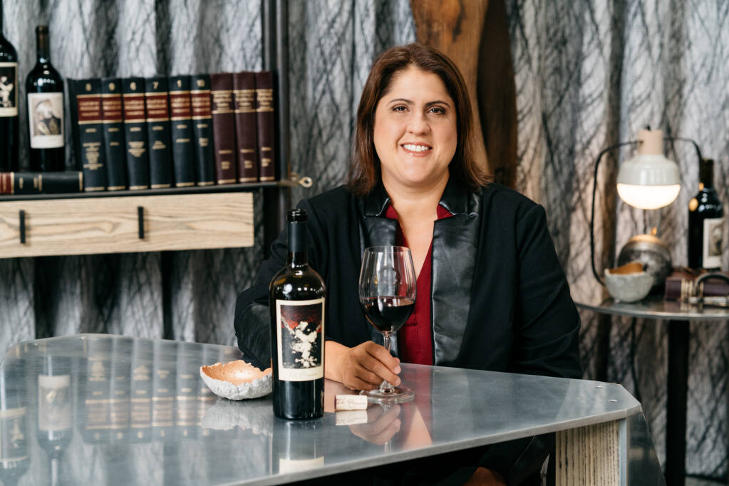 Chrissy Wittmann, director of winemaking at The Prisoner Wine Company, Constellation Brands, Inc.