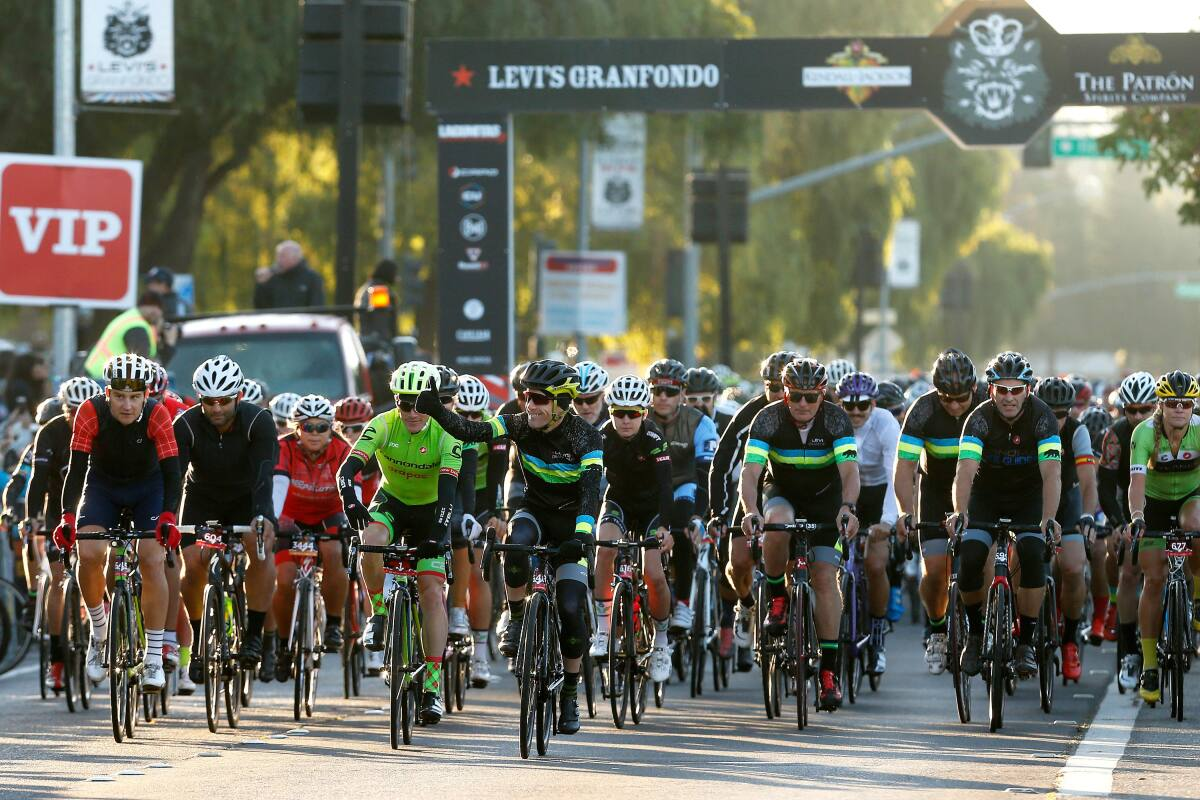 Levi's GranFondo moving to Windsor for 2021 edition