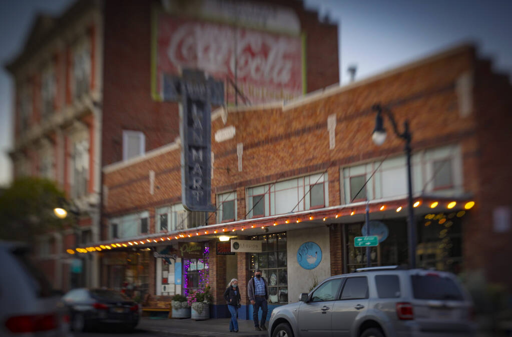Downtown Petaluma shops have been through much change during this last year of the coronavirus pandemic. Local business leaders, though, are hopeful resident loyalty will help family owned businesses rebound. (CRISSY PASCUAL/ARGUS-COURIER STAFF)