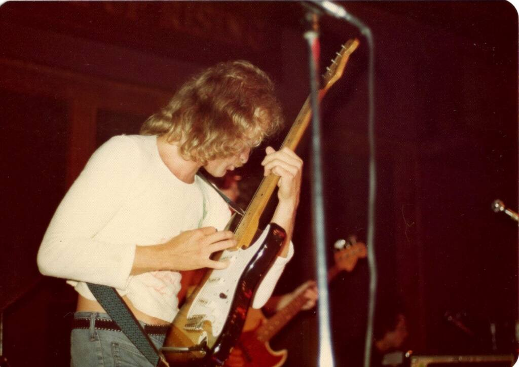 Richie Mayer during his time performing with Loose Lips.