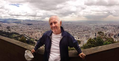 Mick Brigden, manager for top rock acts, shown during a trip to Italy. Brigden died Sept. 5 at his home in Santa Rosa. (MJJ Management)